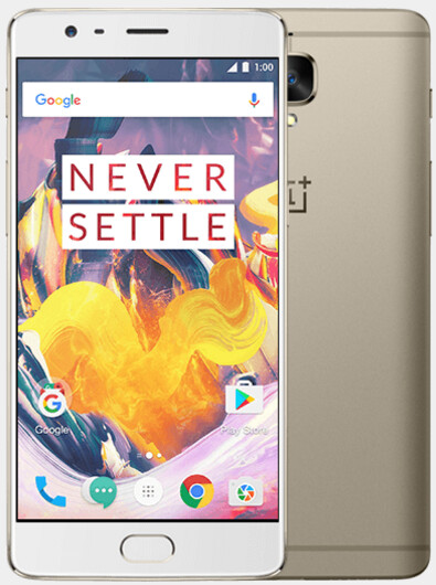 The OnePlus 3T is now available in Soft Gold for immediate shipping - OnePlus 3T now available in Soft Gold for immediate shipping