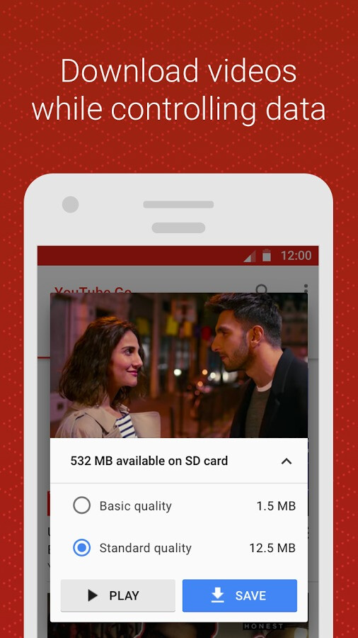 Google's YouTube Go beta app lets you share and download vids to your Android device
