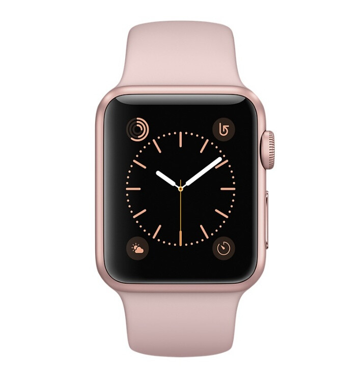 Apple Watch Series 3 with Pink Sand sport band - Valentine's Day 2018 tech gift guide: here's what to get for your significant other