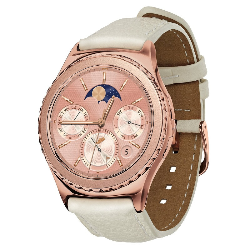 Classic Rose Gold Samsung Gear S2 - Valentine's Day tech gift guide: here's what to get your significant other