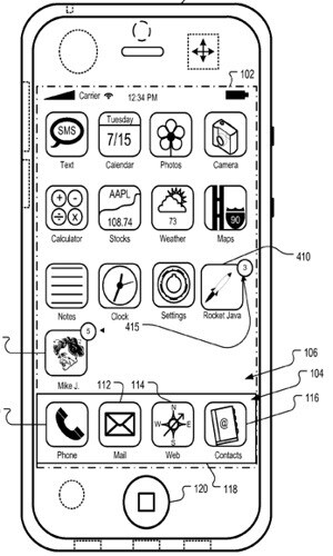 Apple's patent to get contacts on the home screen is late to the game