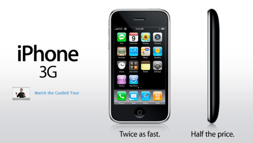Apple iPhone 3G (2008)
