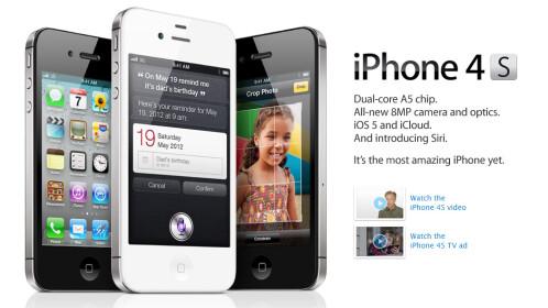 Apple iPhone 4s (2011)