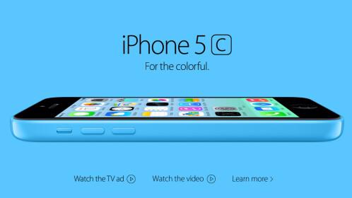 Apple iPhone 5c (2012)