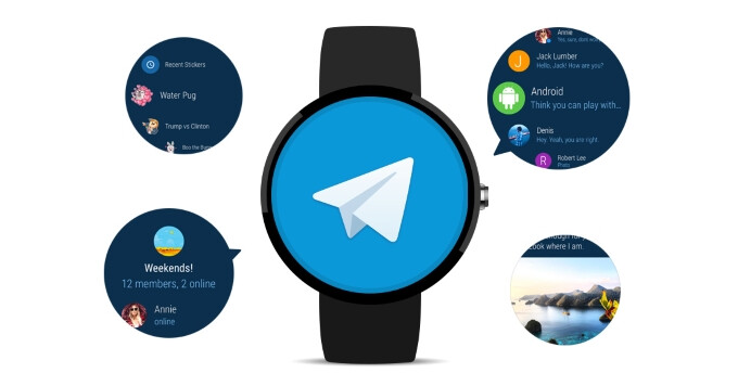 Telegram makes its way to Android Wear 2.0