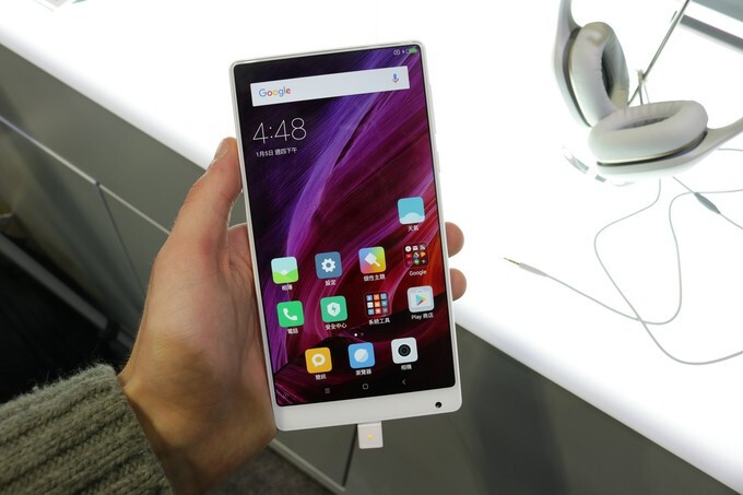 The Xiaomi Mi Mix - Xiaomi will supposedly ditch Qualcomm and MediaTek for its own Pinecone processors soon