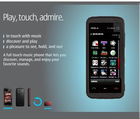 Nokia 5530 XpressMusic Games Edition now available in U.S.