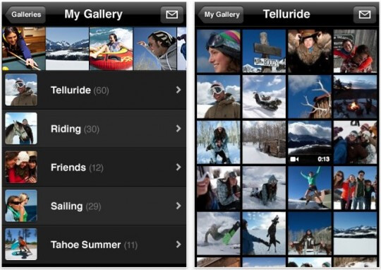 Apple launches MobileMe Gallery app