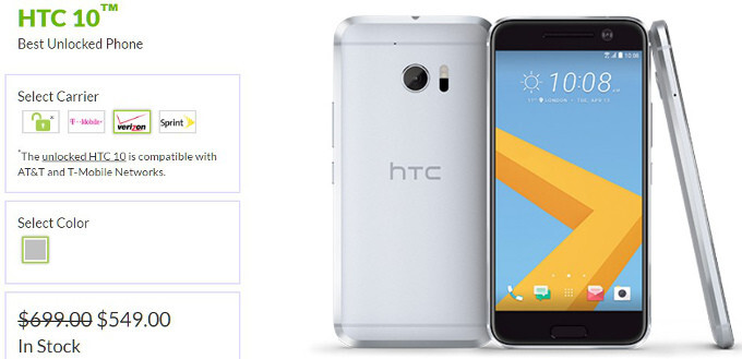 HTC 10 has lost more than 20% of its price since launch - Flagship depreciation: Galaxy S7/edge vs LG G5 vs HTC 10 vs iPhone price drops