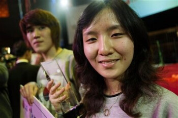 Two South Korean teens crowned as the fastest texters in the world