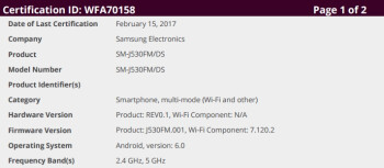 Samsung Galaxy J5 (2017) might be coming soon