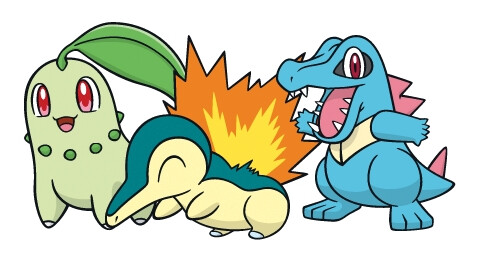 Generation 2 original starters - Chikorita, Cyndaquil, Totodile - Pokemon GO: Second generation Pokemon officially confirmed for this week