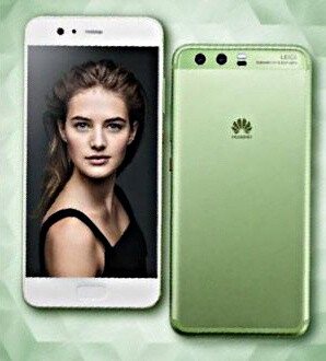 Huawei P10 leaks again in seemingly official renders, this time in blue, gold, and green