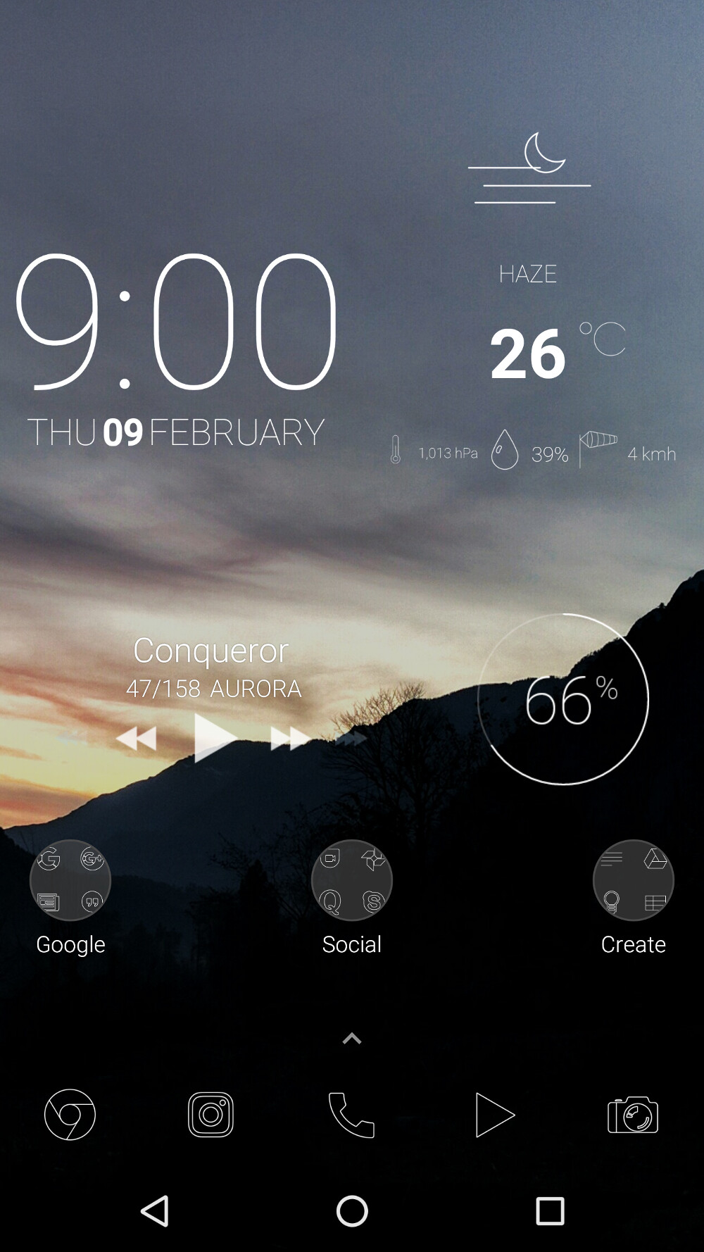 10 amazing Android home screen designs that will inspire you #4