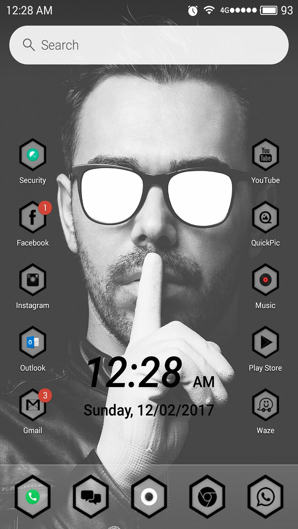 10 amazing Android home screen designs that will inspire you #4 ...
