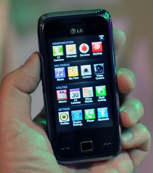 LG's VS750 might look like this GM750 - Verizon's LG VS750 shows up on GSM Certification forum