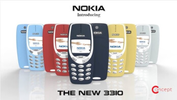 HMD is bringing back the indestructible Nokia 3310 (Image courtesy of Concept Creator)