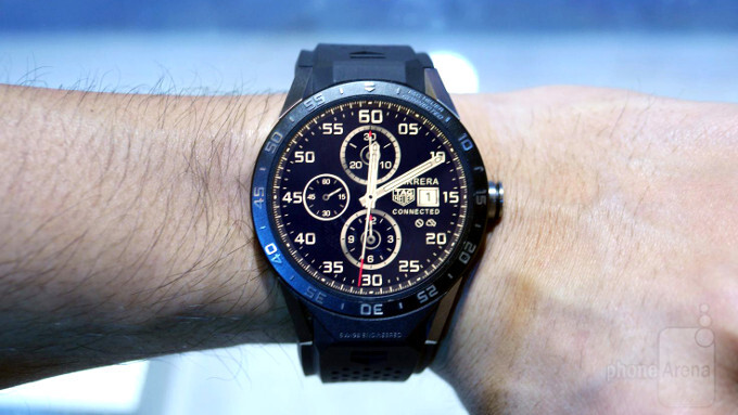 TAG Heuer tipped to launch hybrid Android Wear 2.0 smartwatch on March 14