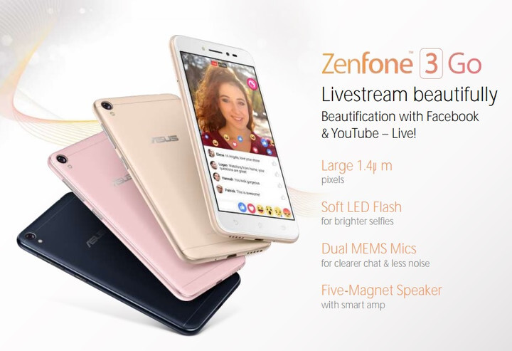 Budget Asus Zenfone 3 Go could be shown at MWC 2017