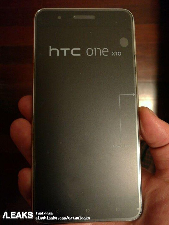 The HTC One X10 leaks - New image of HTC One X10 mid-ranger leaks