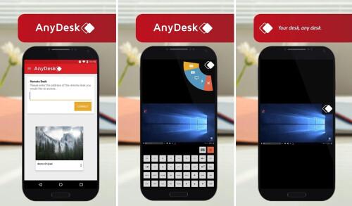AnyDesk remote PC/Mac control