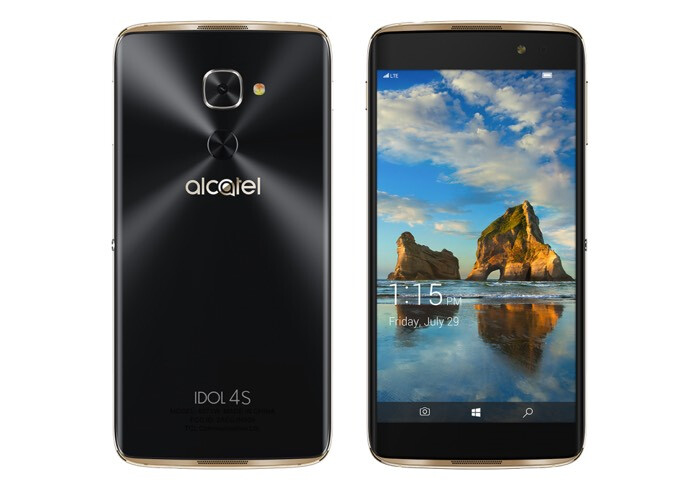 Alcatel's Idol 4S with Windows 10 Mobile is now available for purchase on Amazon