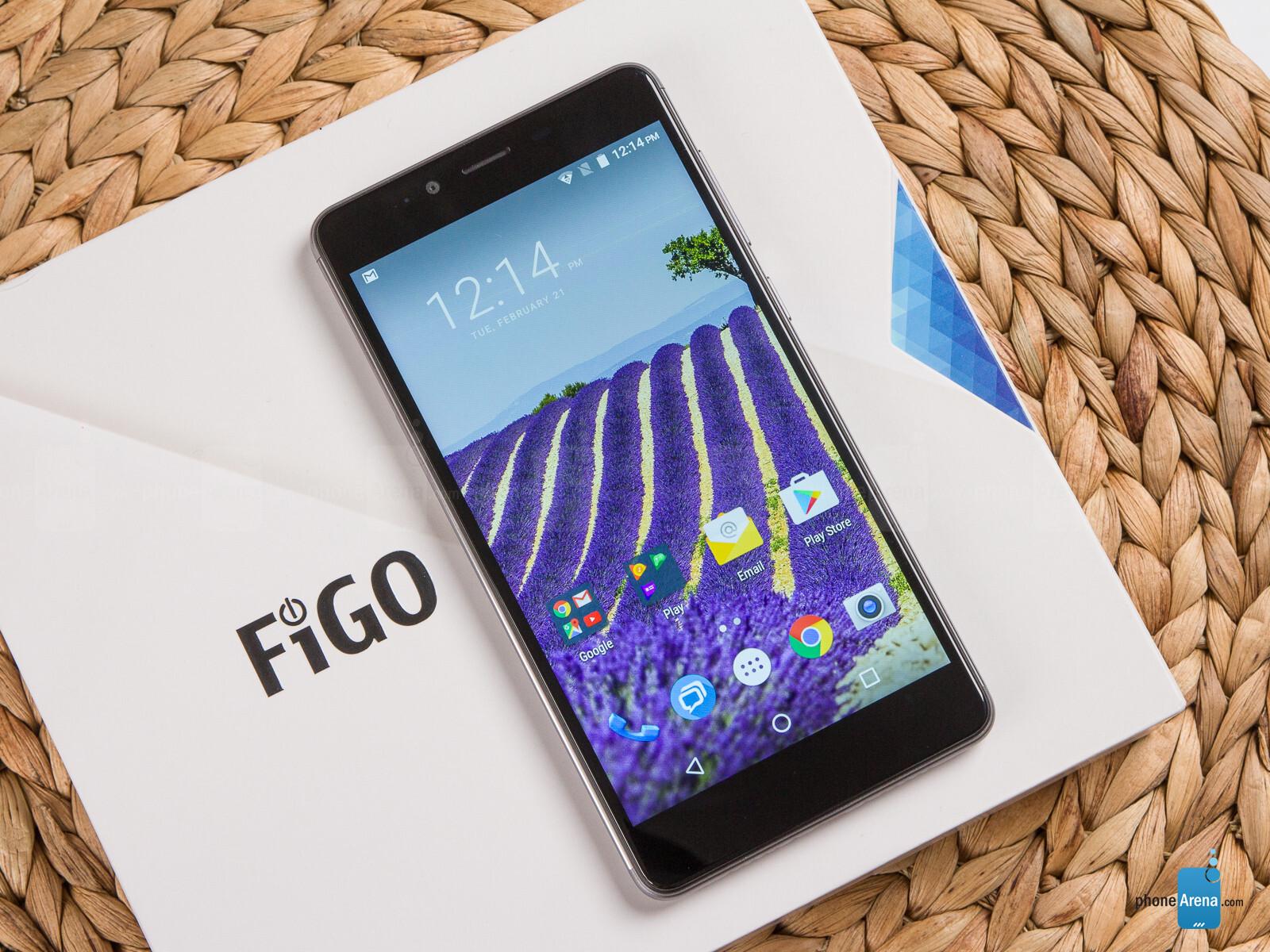 how to turn on a figo phone