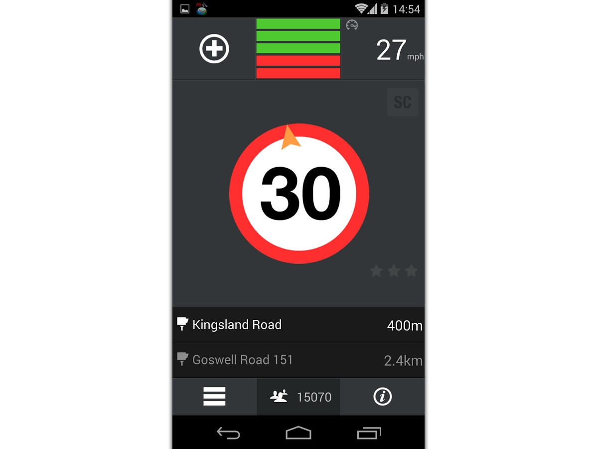 5 of the best Android apps for speed camera and road hazard