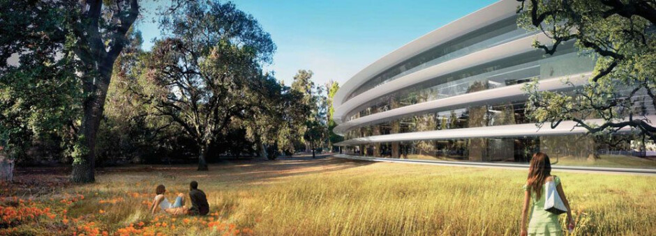 The spaceship Apple Park campus will be Apple's new official HQ starting this April
