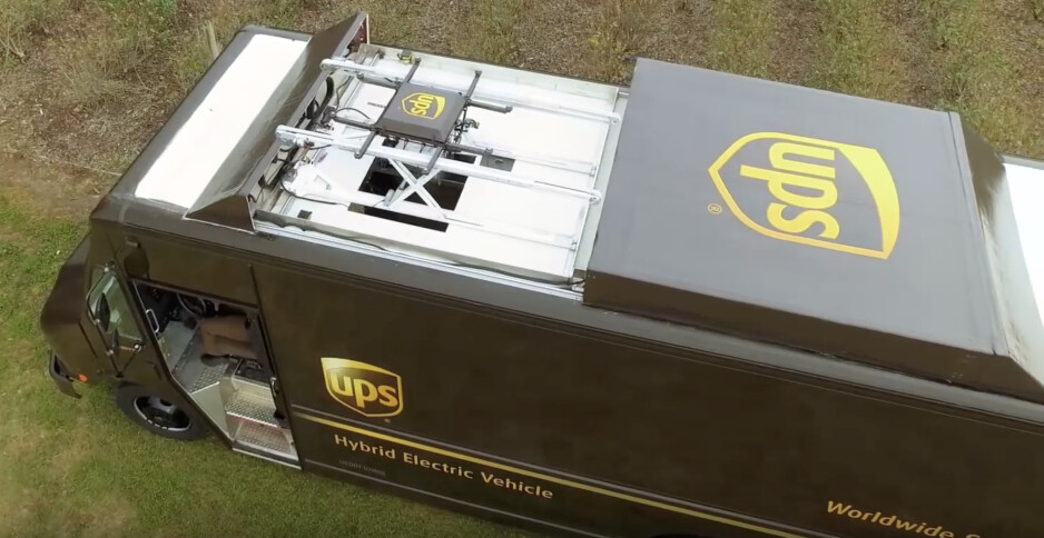 UPS is having humans and drones work together to decrease delivery times