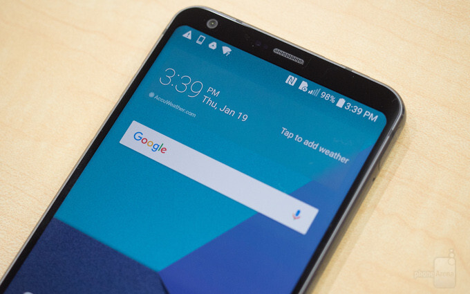 LG G6 is among the first 'all-screen' phones we're going to see in 2017 - LG explains why it dislikes curved display panels, and why there isn't one on the G6
