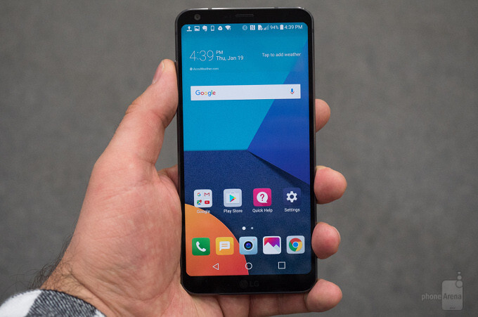 LG G6 battery capacity and charge time comparison vs Galaxy S7 edge, OnePlus 3T and other rivals