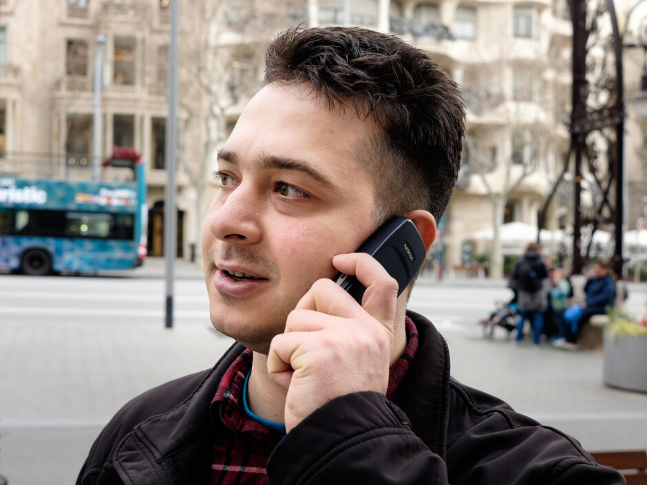 Nick's cruising old-school this year. - PhoneArena at Mobile World Congress: We landed in Barcelona