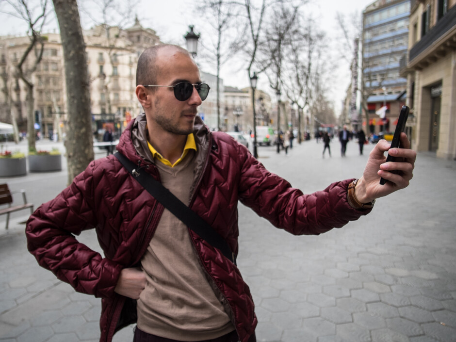 Mr. Rusev came along to make sure no one's slacking. - PhoneArena at Mobile World Congress: We landed in Barcelona