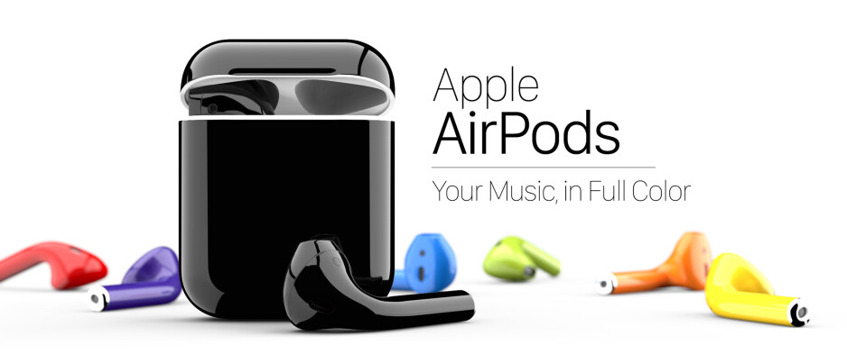 Thanks to Colorware, you can get Apple's AirPods in virtually any color that you want for $299