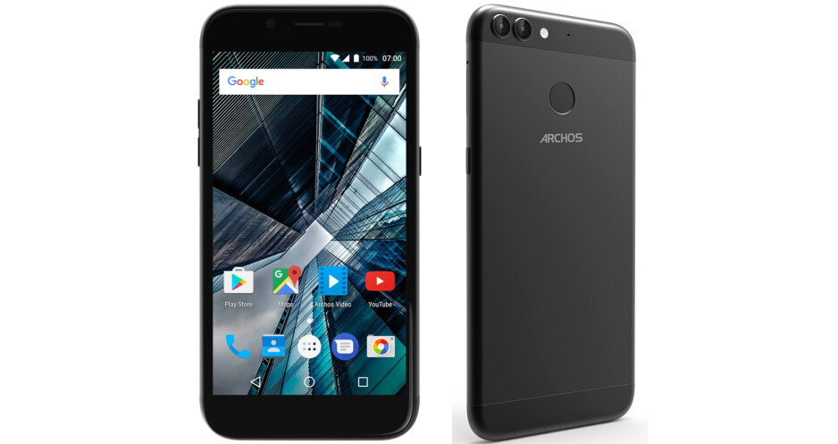 Archos 50 Graphite & 55 Graphite - Archos intros two Graphite series smartphones with dual-lens cameras that cost less than $150