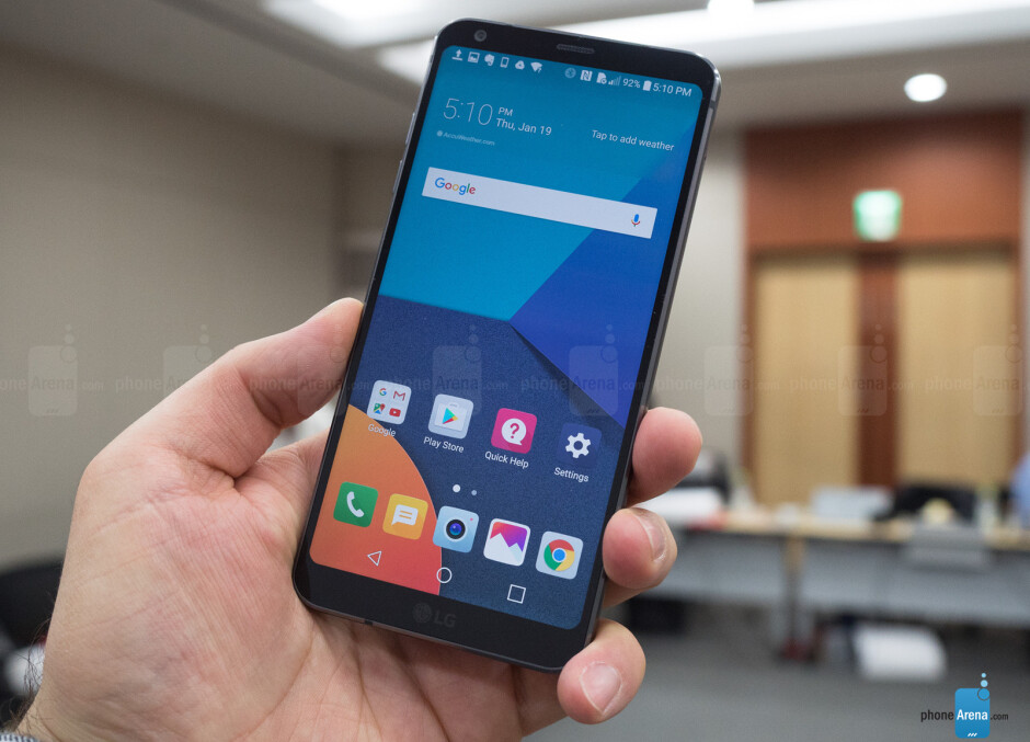 Hands-on with the all-screen beast - WHAT?! LG says its G6 flagship is better off with Snapdragon 821, than 835; and it may be right