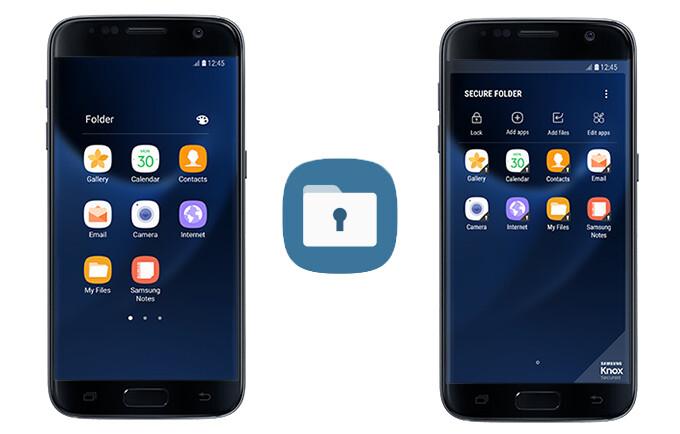 Secure Folder for Samsung Galaxy S7/S7 edge - Samsung's Secure Folder is now available for Galaxy S7/S7 edge