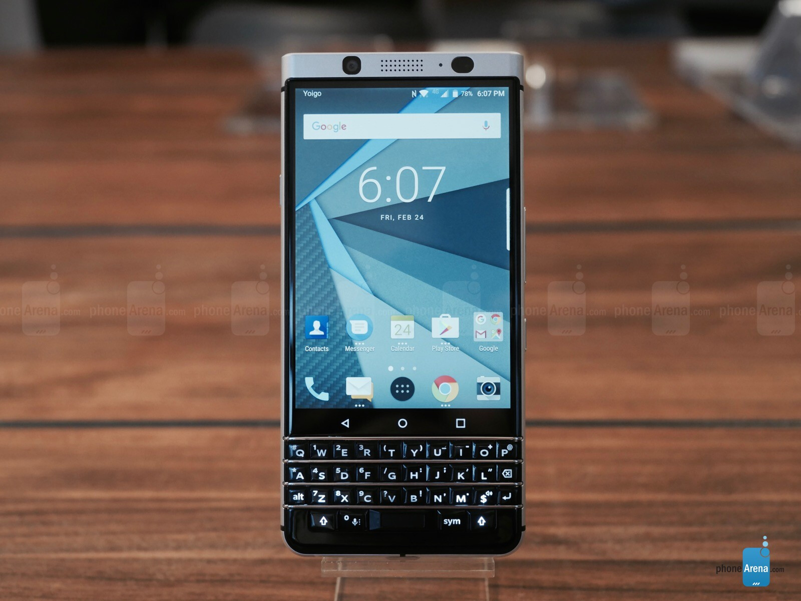 BlackBerry KEYone hands-on preview: bringing the physical