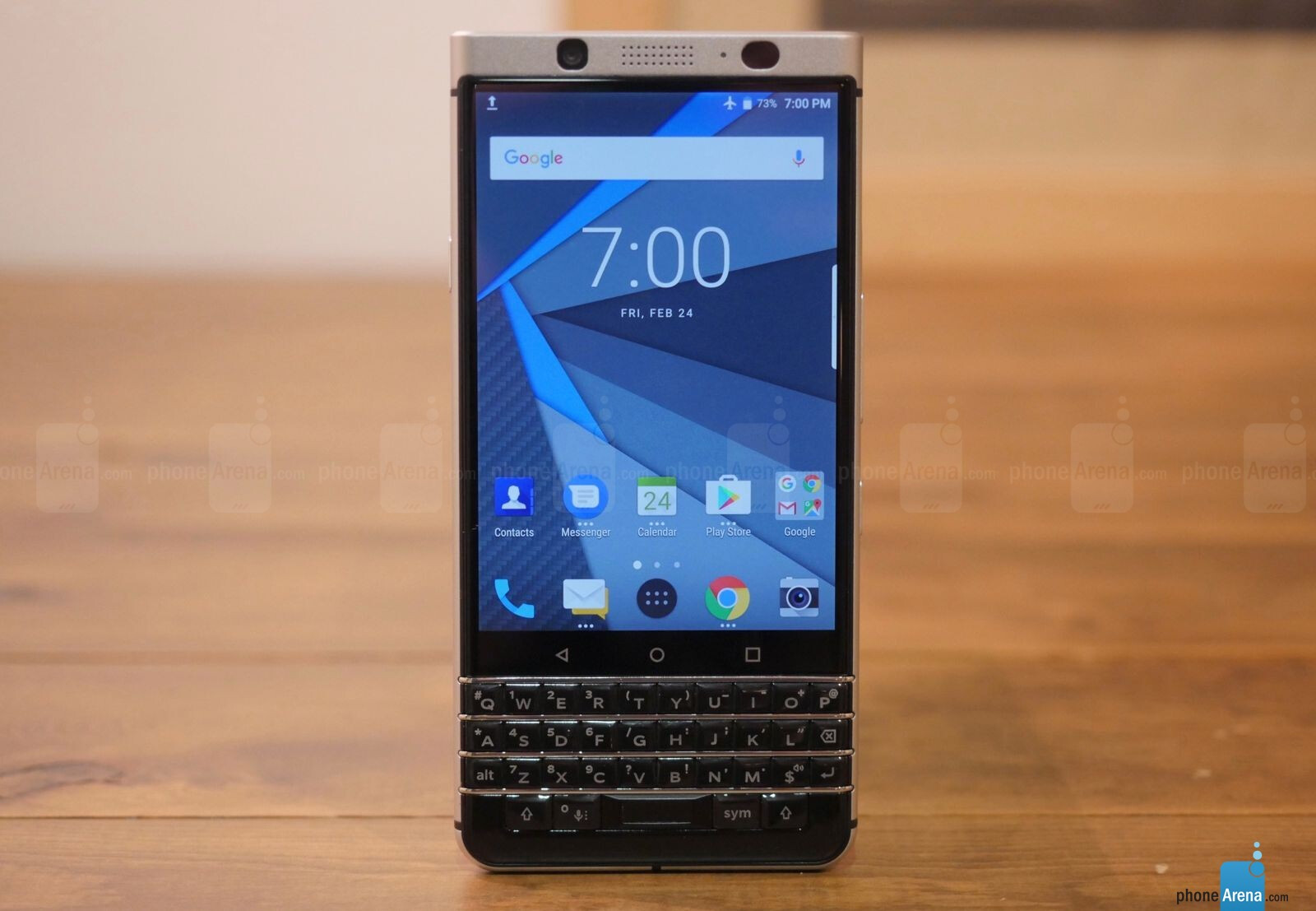 BlackBerry KEYone with QWERTY Keyboard, 4.5-inch Display, Android 7.1 announced