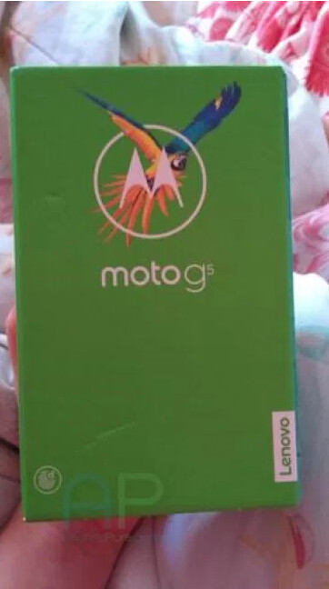 Picture of Moto G5 leaks along with a shot of the box it comes in in News