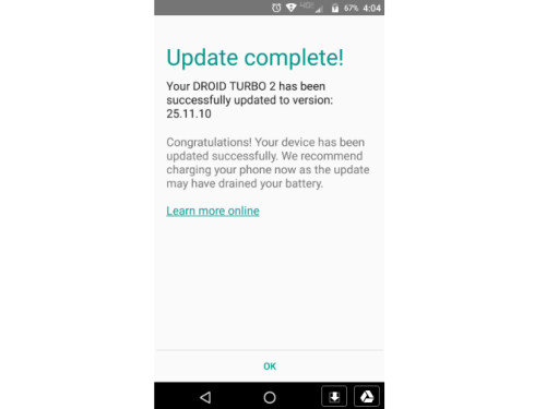 Motorola DROID Turbo 2 receives OTA update to Android 7.0 in News