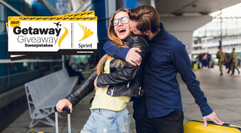 Sprint's new sweepstakes promo gives customers a chance to take flight and get away in News