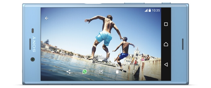 Sony Xperia XZs specs review: A small step for Sony, even smaller for mankind