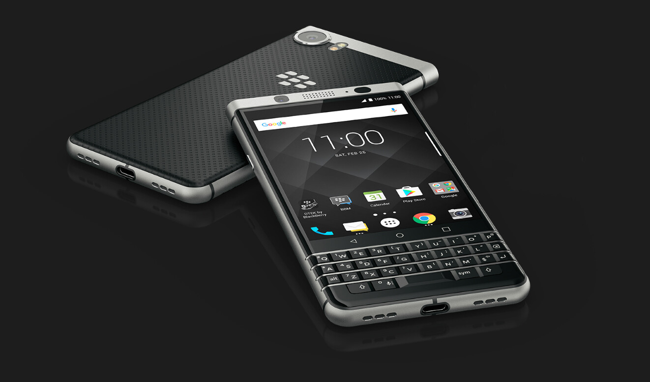 BlackBerry KEYone (Mercury): All the official images