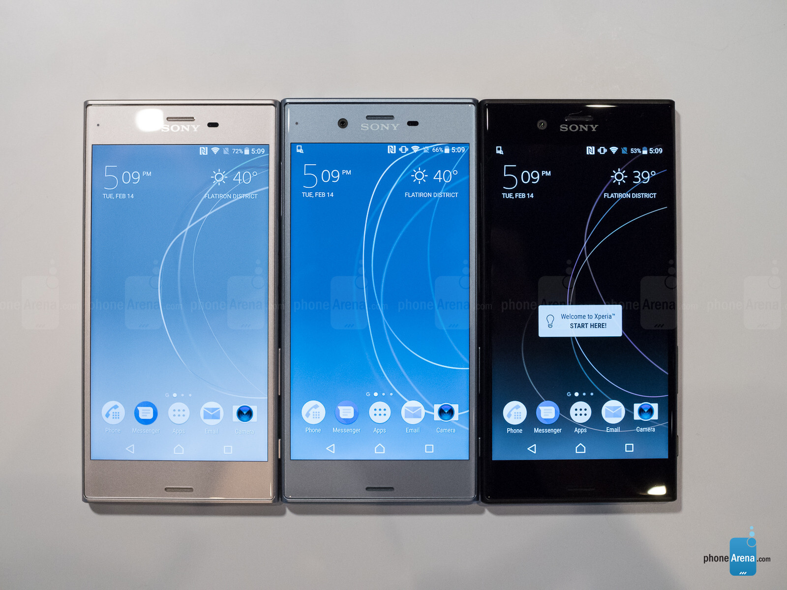 sony xperia xzs hands on a minor refresh with a fancy new