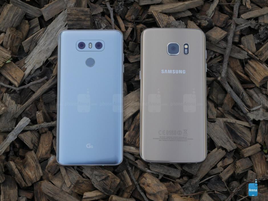 LG G6 vs Samsung Galaxy S7 edge: From Korea with love