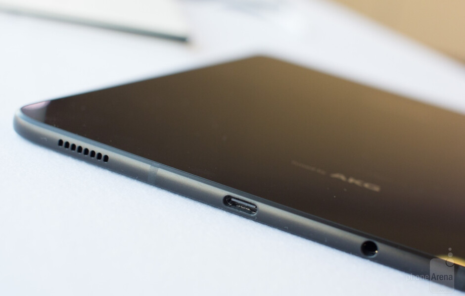 The first Android tablet with a glass back - Samsung Galaxy Tab S3 hands-on: A better tablet than we expected