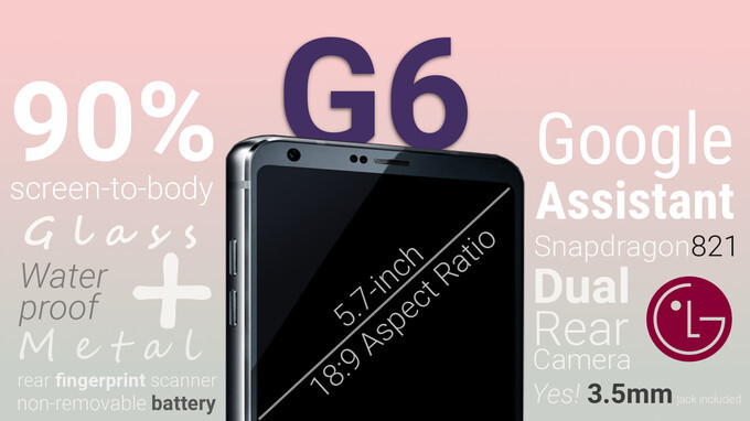 LG G6 MWC 2017 announcement event liveblog