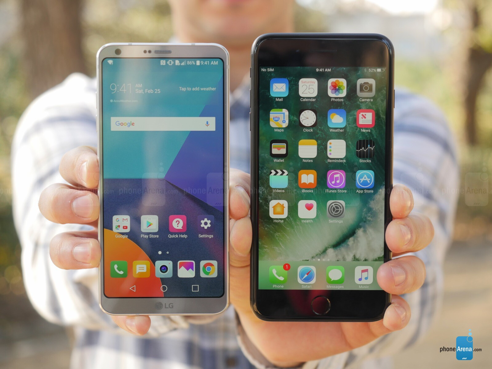 lg g6 vs iphone 7 plus a preview